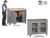 COUNTER HEIGHT BENCH CABINETS