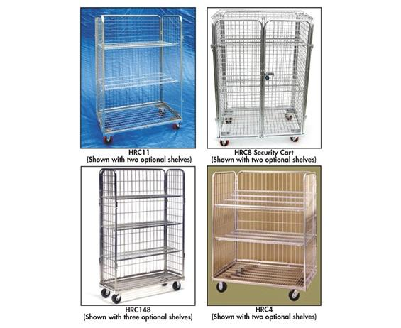 WIRE ROLL CARTS